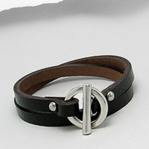 Genuine Leather Bracelet, Jewelry, Accessories